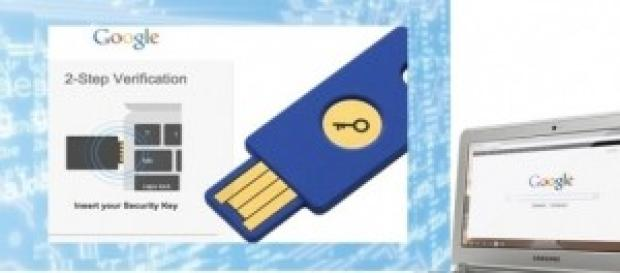 Security Key FIDO U2F  de Yubico