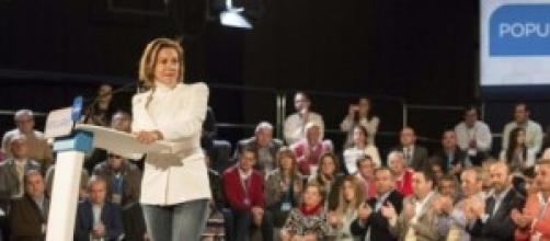 Cospedal, presidenta de Castilla-La Mancha.