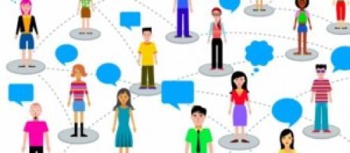 """Il mondo virtuale """"connette"""" e fa interagire."""