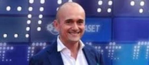 Il noto re del gossip Alfonso Signorini