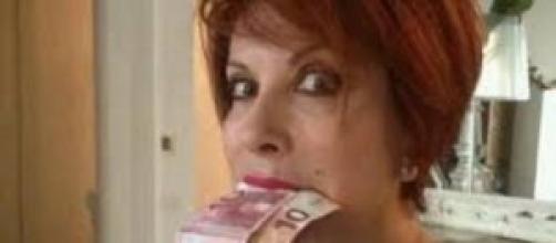 La giornalista e conduttrice Alda D'Eusanio