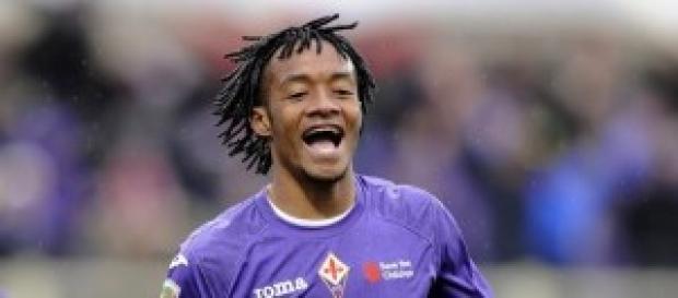 Cuadrado attaccante della Fiorentina
