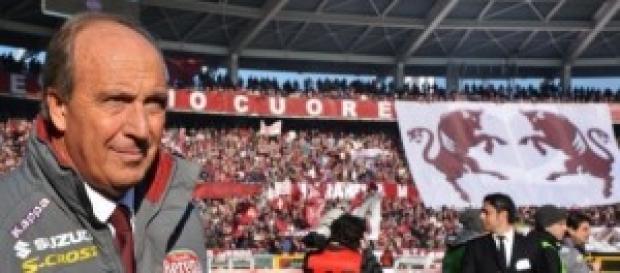 Giampiero Ventura allenatore del Torino