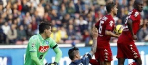 Il gol di Ibarbo al S.Paolo