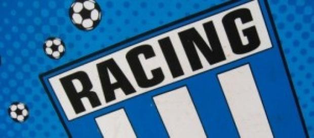 """Momento de """"dulce"""" para Racing."""