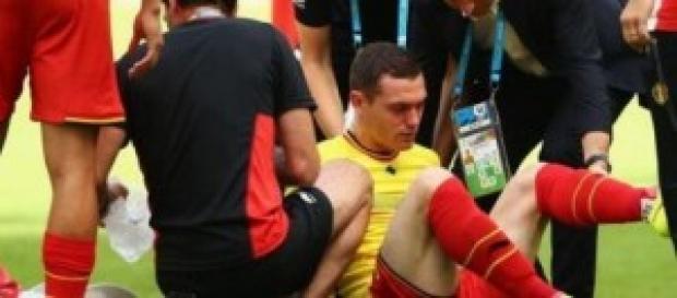 Vermaelen recae de su lesión. Foto: depor.pe