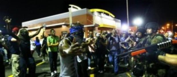 Foto La Presse: Proteste a Feguson