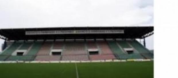 Lo stadio Giglio di Reggio Emilia