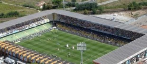 Lo stadio Manuzzi di Cesena