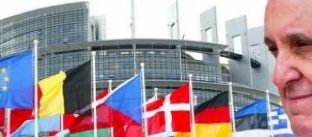 Papa Francisco discursa no Parlamento Europeu