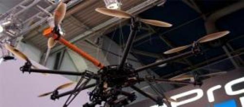 Go Pro Drone con una video camara