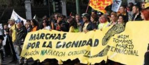 Marchas de la Dignidad del 22M.
