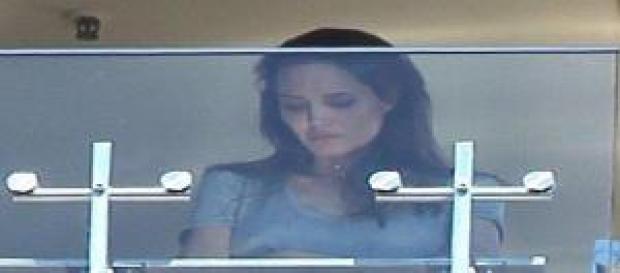 Angelina se ve destrozada después de la discusión
