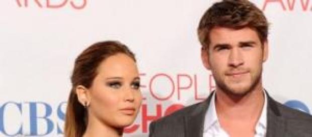 Jennifer Lawrance y Liam Hemsworth ¿De romance?