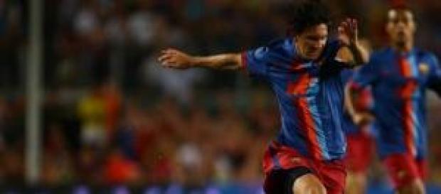 Lionel Messi bate récords.