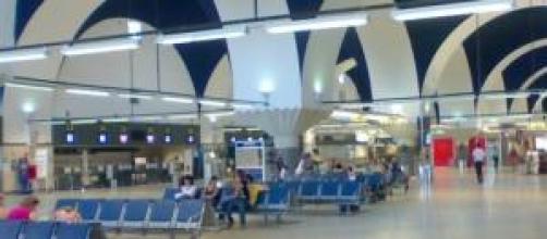 La huelga se ha notado también en los aeropuertos.