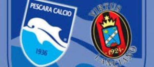 Pescara-Lanciano, venerdì 28/11 ore 20:30