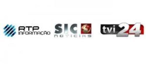 RTP Informação, SIC Notícias e TVI24