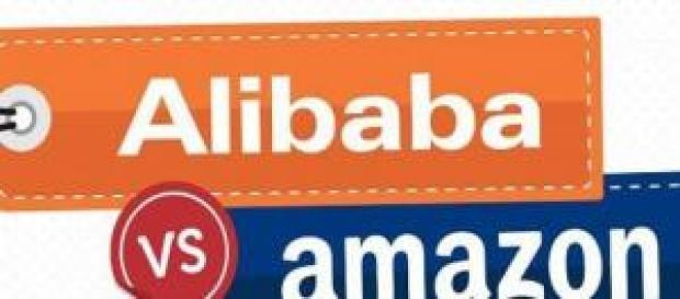 Guerra de gitantes de e-commerce Alibaba Vs Amazon