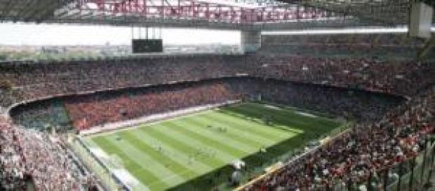 Lo stadio Giuseppe Meazza San Siro di Milano