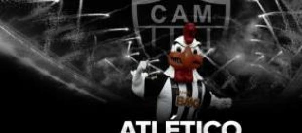 O galo, mascote do Atlético Mineiro