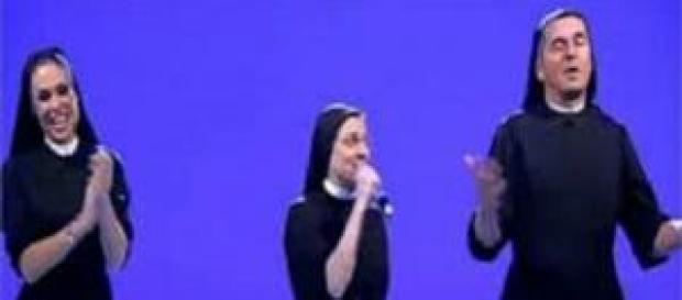 Suor Cristina alla trasmissione 'Le Iene'