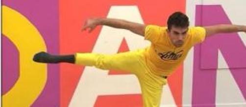 Amici 14: il ballerino Danilo rischia di uscire.