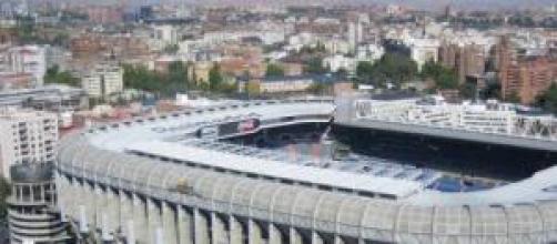 Despachos del Madrid en el Bernabeu.