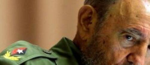 El dirigente cubano Fidel Castro