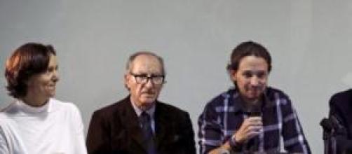 Reunión del partido Podemos