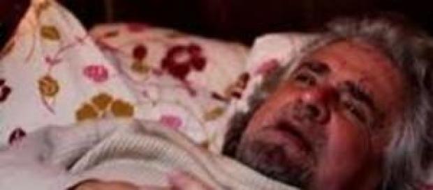 """Passo indietro di Beppe Grillo:""""Sono stanchino"""""""