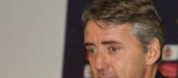 Roberto Mancini allenatore dell'Inter