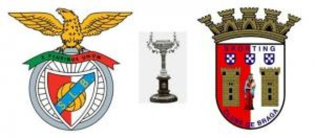 SL Benfica vs SC Braga nos oitavos da Taça