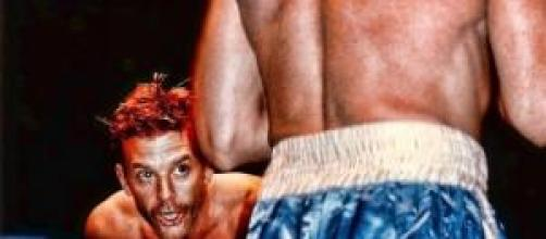 Mickey Rourke en los 90 fué boxeador profesional