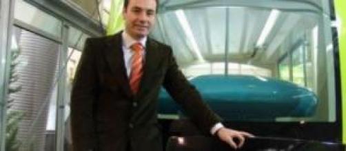 Tomas Gómez Franco y su tranvía