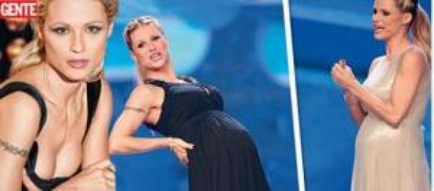 Gossip news: la gravidanza di Michelle Hunziker.