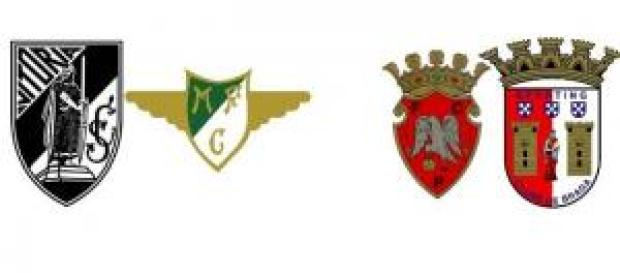Guimarães vs Moreirense e Penafiel vs Braga