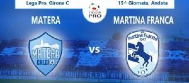 Matera-Martina Franca 1/12 ore 20:45