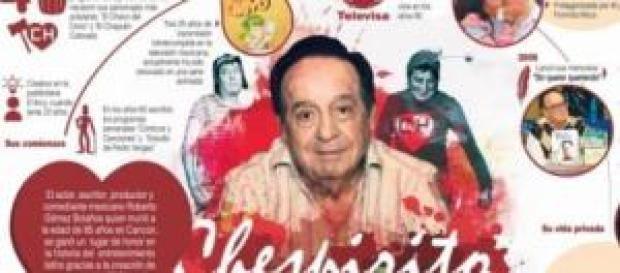 """""""Chespirito"""" creó personajes con un humor blanco"""