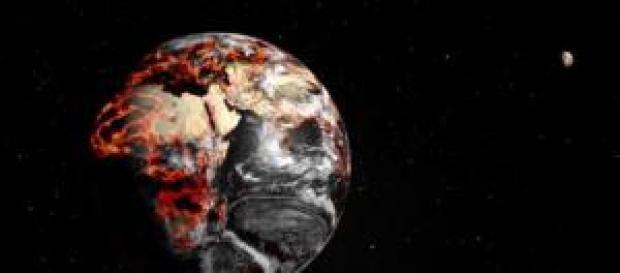 Um cenário preocupante sobre o planeta.