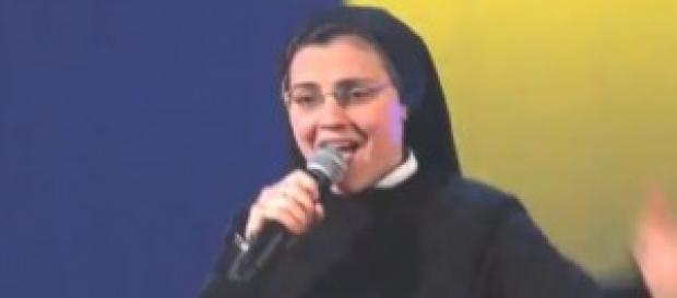 L'esibizione di Suor Cristina a The voice of Italy