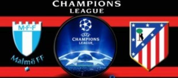 Malmo-Atletico Madrid, del 4/11 ore 20:45