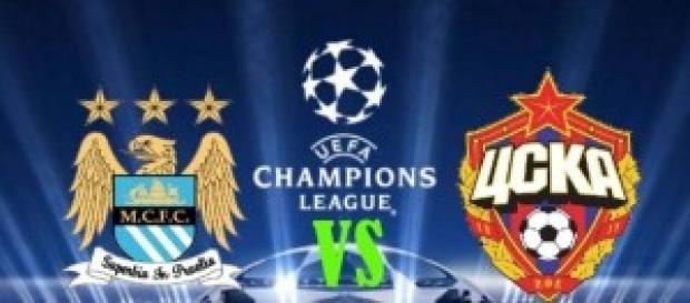 Manchester City-CSKA, il 5/11 alle 20:45