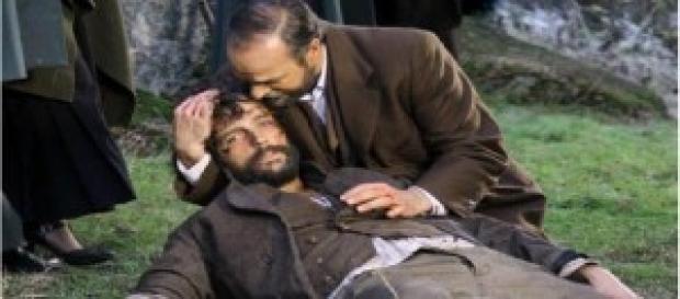 Sebastian muore a Il Segreto