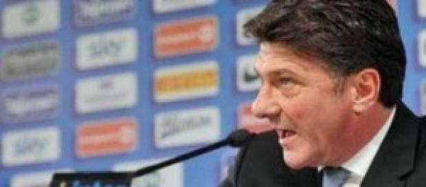 Walter Mazzarri allenatore dell'Inter