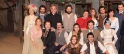 Il cast della soap 'Il Segreto'