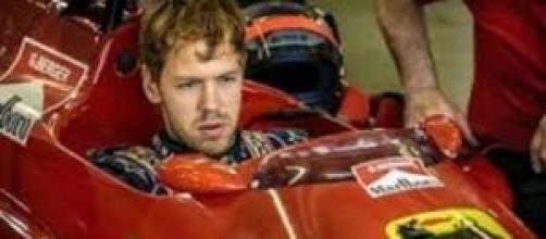 Sebastian Vettel, primeras vueltas en Ferrari.
