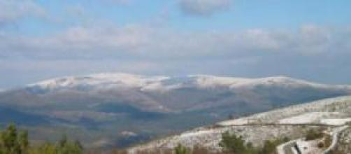 Serra do Marão com neve, Trás os Montes