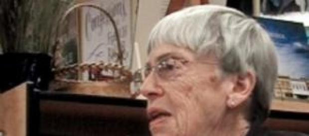85-year-old American writer Ursula K Le Guin