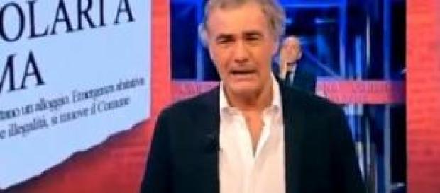 Massimo Giletti accusa un malore durante l'Arena